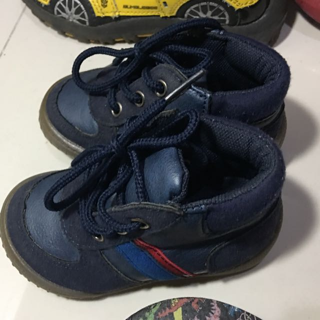Toddler High Cut Shoes - Mothercare