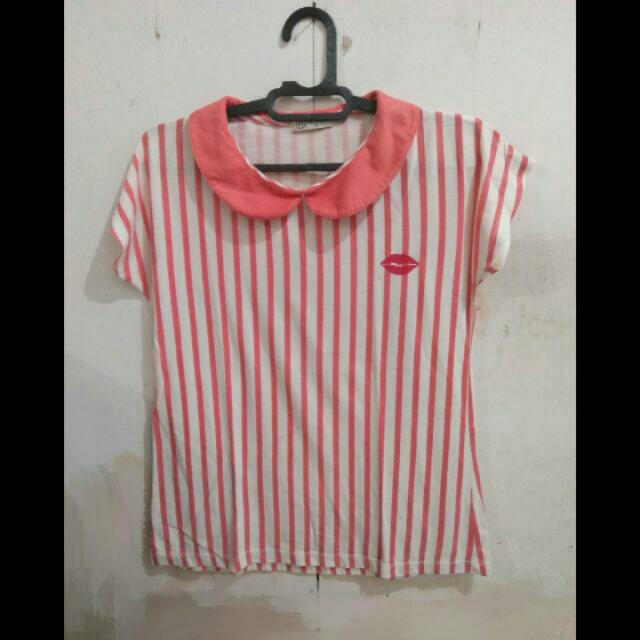 T-shirt Stripe Nevada
