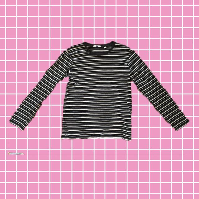 Uniqlo Stripes Long Sleeves