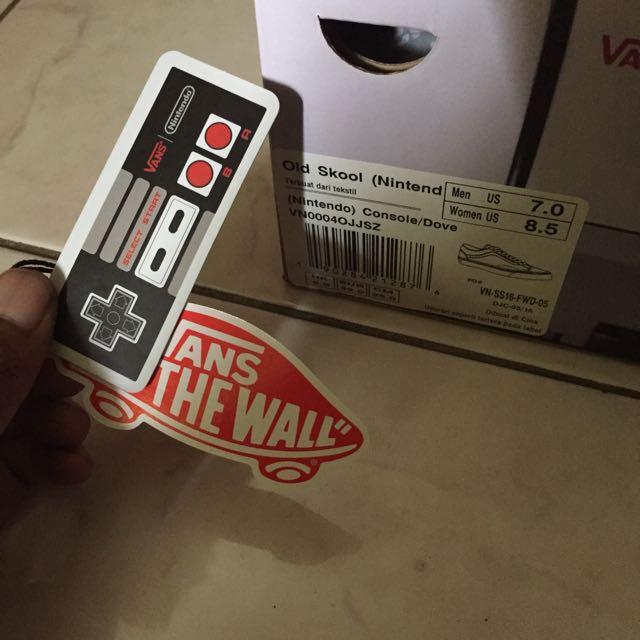 331aad13fa5849 (UPDATE PRICE) Vans Old skool X Nintendo Console