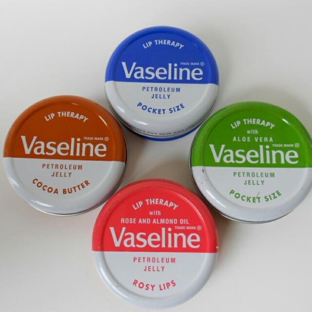 Vaseline Lip Therapy Petroleum Jelly  Pocket Size