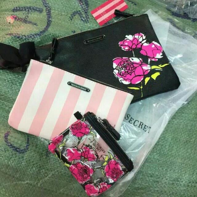 Victoria's Secret Pouch 3 in 1