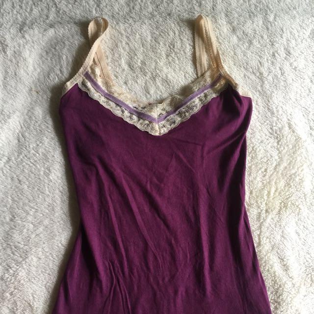 vintage sleeveless blouse