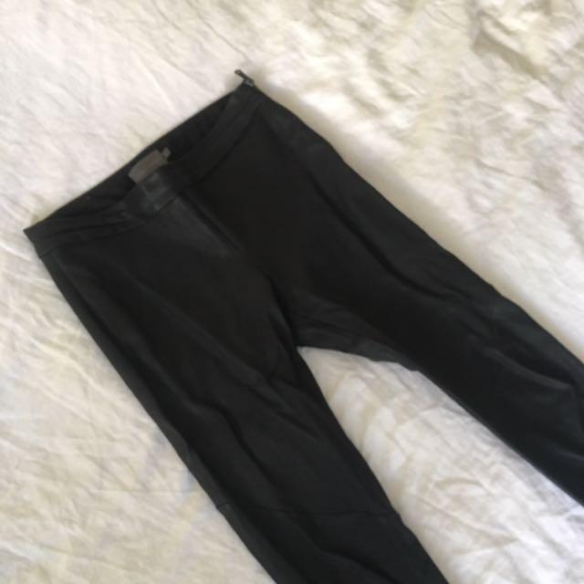 Watson x Watson Leather Pants- Size 8