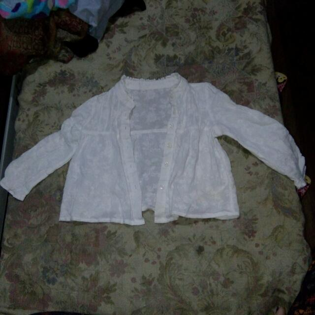 White clothes for baby 18 to 24 months old