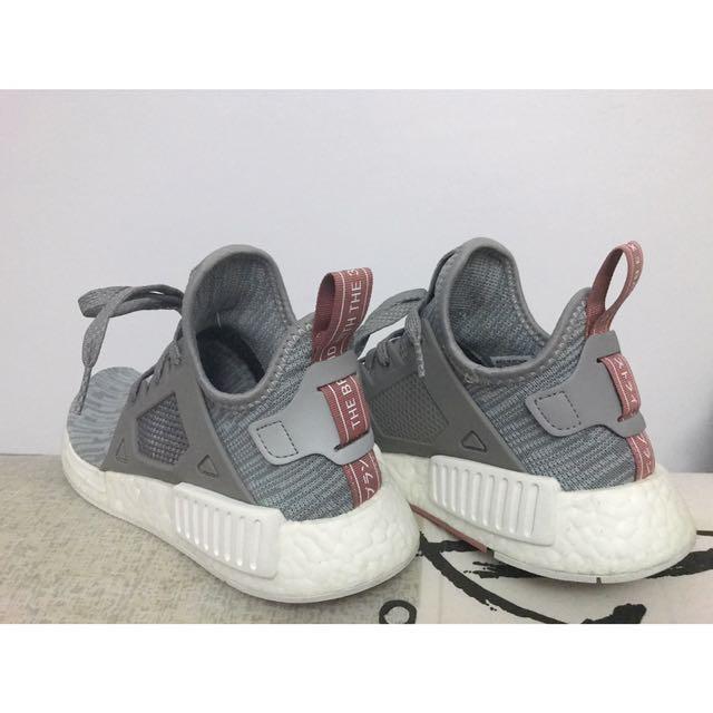 6f18ea3d8ac08 Women s Adidas NMD XR1 PK Clear Onyx Pink Salmon Grey White ...