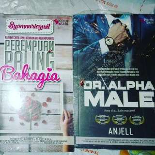 Malay Novel Dr Alpha Male & Perempuan Paling Bahagia