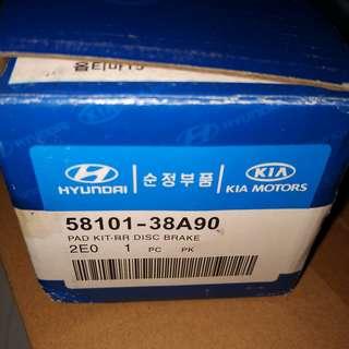Kia Hyundai Front Brake Pads Elantra Sonata Tucson Magentis Optima Sportage