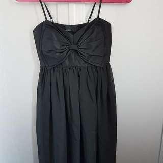 Vero Mods Black Bow Dress