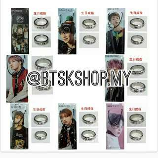 BTS RING NECKLACE