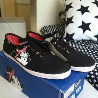 KEDS (CH MINNIE FACE BLACK)