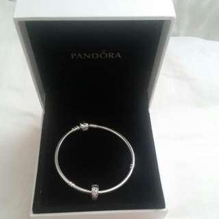 Pandora Bracelet With 1 Charm
