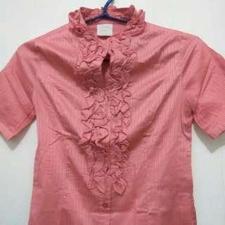 Ruffle Shirt 'Emma James
