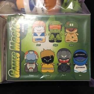 絶版CiBoys  Games Master 全套7隻