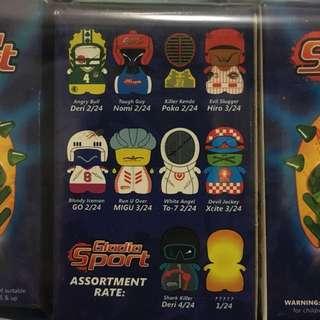 絶版CiBoys Gladia Sport 連連1隻隱藏版全套共12隻