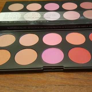 Authentic BH Cosmetics 10-Blush Palette