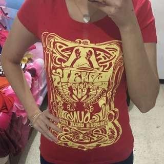 Kaos Merah , Red Tshirt