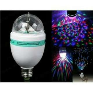 Lampu disco putar full led kedap kedip
