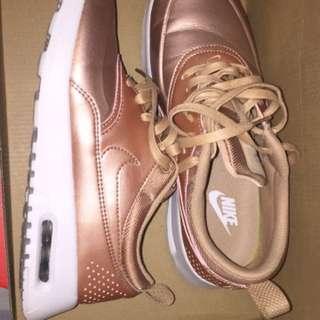Nike Air Max Thea- Rose Gold Colour
