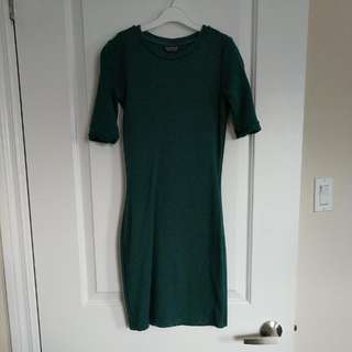 Top Shop Size 2 Fitted Dress