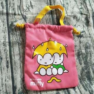 <全新>miffy束口袋