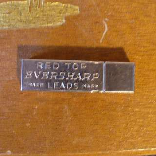 Vintage RED TOP EVERSHARP Leads Case - Mechanical Pencil Refill - RARE
