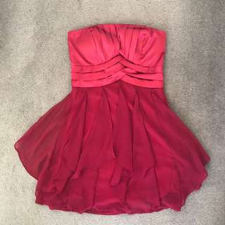 Cocktail red Dress