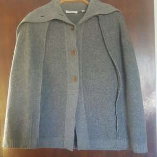 Country Road 100% Wool Cape