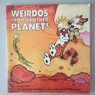 Calvin And Hobbes: Weirdos From Another Planet