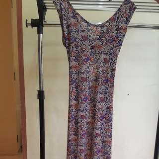 Maxi Dress (Freesize)