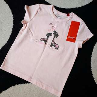 Esprit Pink T Shirt For Girls