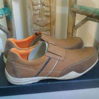 Sepatu Crocodile Deep Brown Kondisi 90%