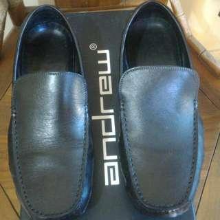 Sepatu Andrew Harlan Black Kondisi 85%