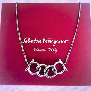 AUTHENTIC FERRAGAMO Necklace - Made In Italy