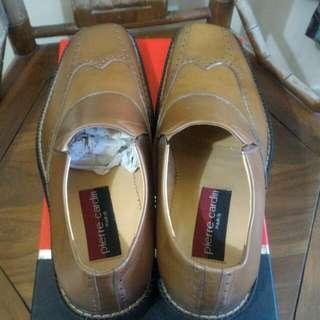 Sepatu Pierre Cardin Paris Brown Kondisi 98%
