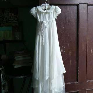 500(repriced)Christening Long Gown