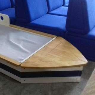 Boat Toddler Cot