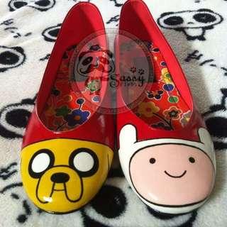 Adventure Time Mismatch Shoes