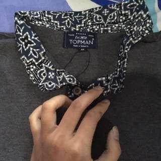 Reprice TOPMAN Polo Shirt (75k)
