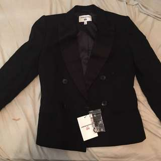 Carine Roitfeld Paris x Uniqlo Double Breast Jacket