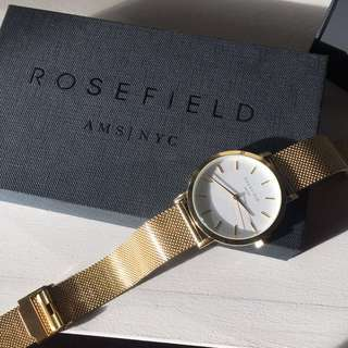 Rosefield Gold The Mercer Watch