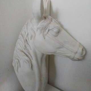 White Horse Statue for wall