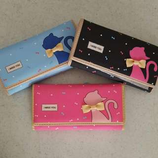 BN cat wallet (long)