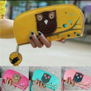 BN owl wallet (long)