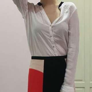 Zara Long sleeves top size M