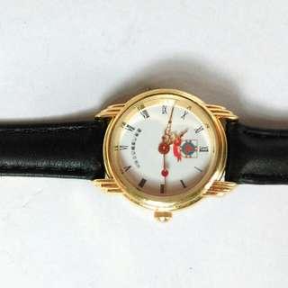 鍍厚金紀念版手錶