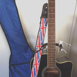 Aria Acoustic/Electric Guitar