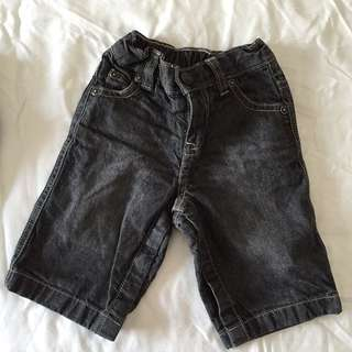 Baby Gap Black Jeans 3-6mo