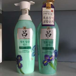 Korean Hair Shampoo & Conditioner