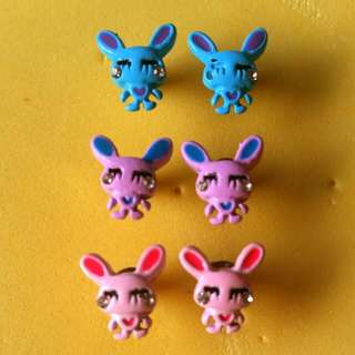 Cute Bunny Earrings 😍